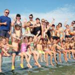 Gyermektábor záró ünnepség a Balatonon