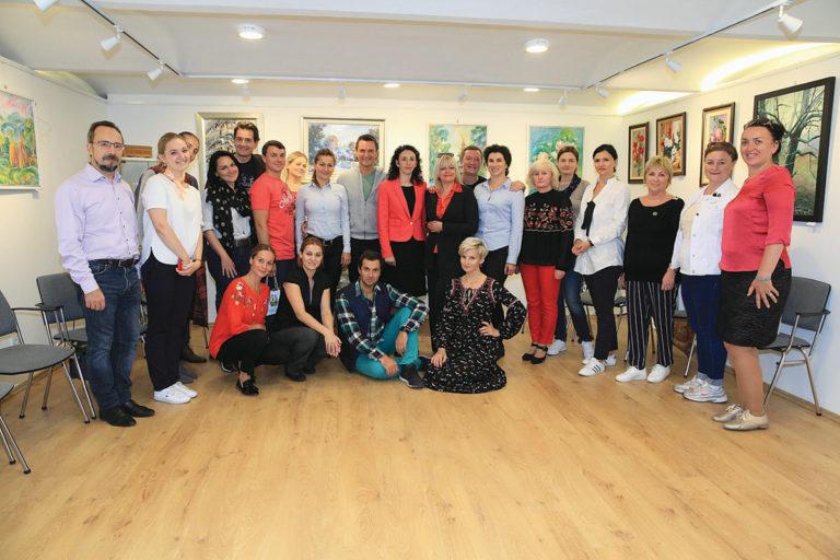 Зустріч з акторами Національної київської оперети