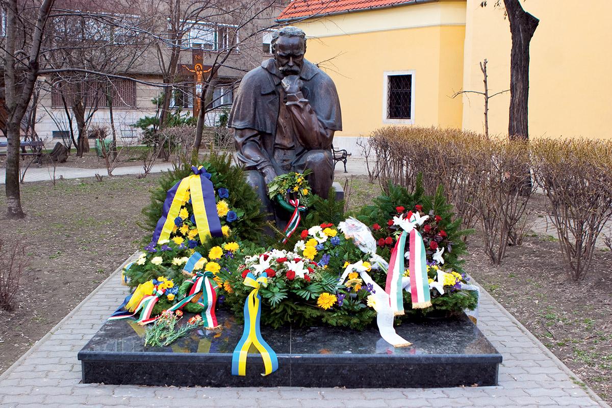 Пам'ятник Тарасу Шевченку в Будапешті