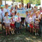 Учні Недільної школи привітали Україну з Днем Незалежності