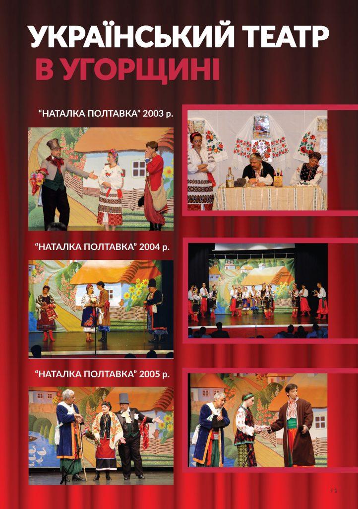 ОНЛАЙН-ПОКАЗ вистав із репертуару Першого Українського національного театру в Угорщині